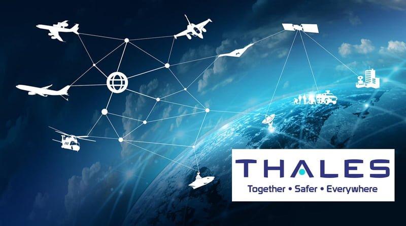Slogan Thales : Together, Safer, Everywhere