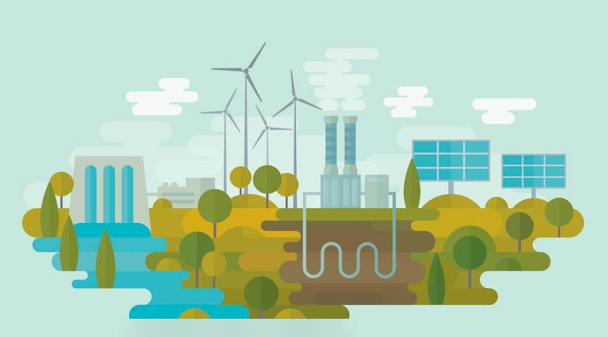 Il existe différents types d'énergies renouvelables. Toutes sont indépendantes des énergies fossiles