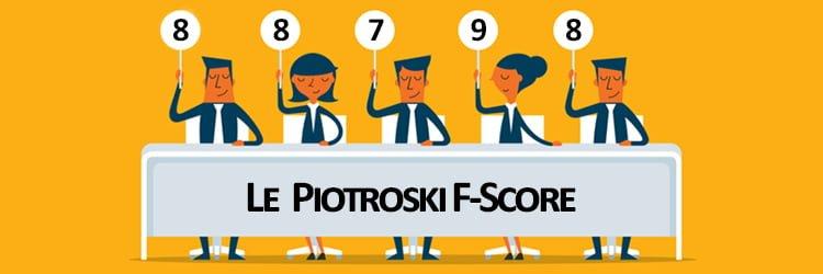 Le Piotroski F-Score
