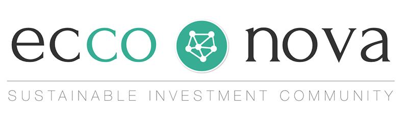 Logo slogan Ecco Nova