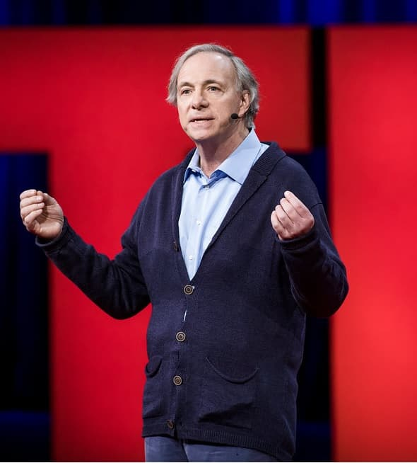 Ray Dalio pendant une conférence TED