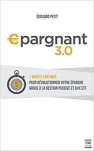 Couverture du livre Epargnant 3.0 d'Edouard Petit