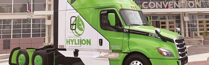 Hyliion camion électrique