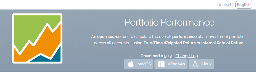 Télécharger Portfolio Performance sur le site officiel