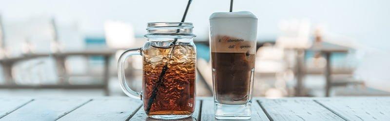 Café ou thé? Les meilleures boissons d'été.