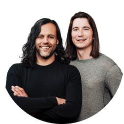 Baiju Bhatt & Vladimir Tenev, fondateurs de Robinhood